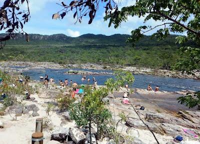 Parque Nacional da Chapada dos Veadeiros - Corredeiras