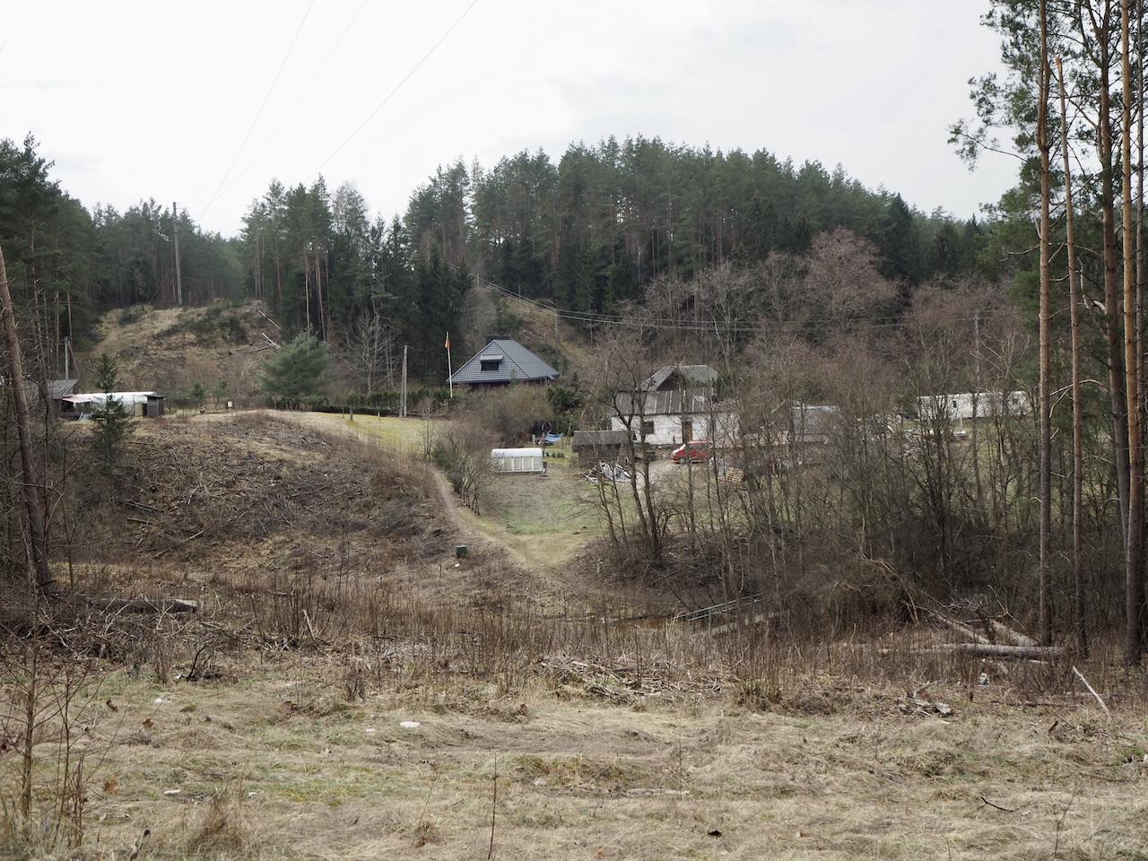 Verkių Riešės panorama