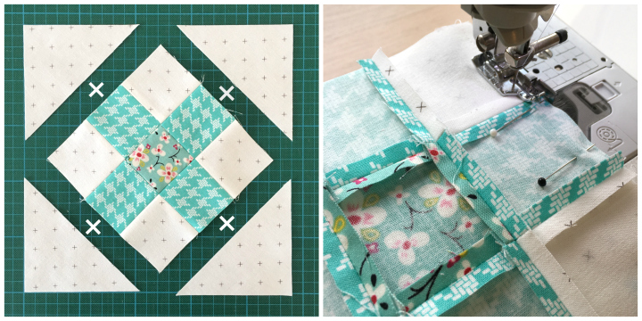 Tutorial | Criss Cross Quiltblock
