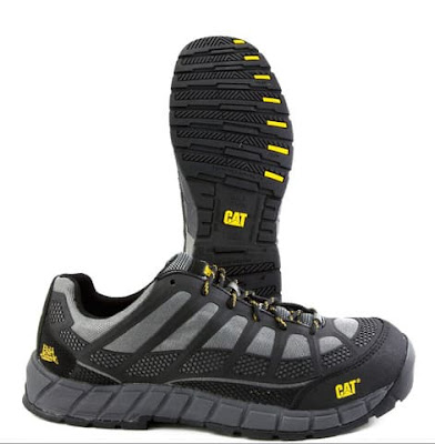 Sepatu Safety Caterpillar streamline CT charcoal Original