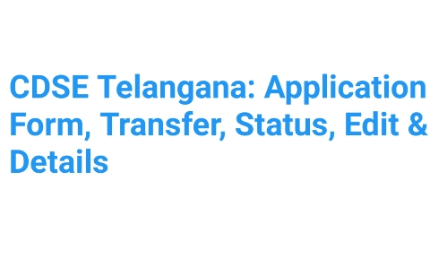 CDSE Telangana