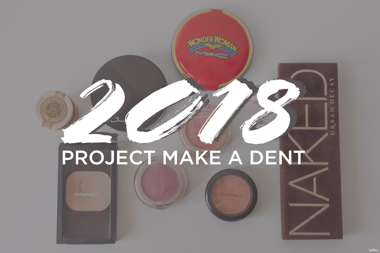 lavlilacs 2018 Project Make a Dent - beginning - cover