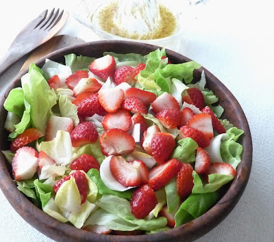 Strawberry - Endive Salad