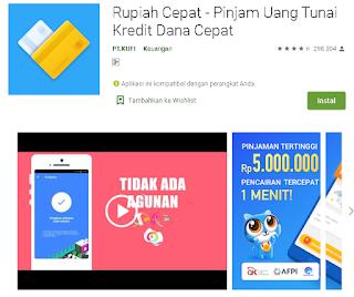Cara Menggunakan Aplikasi Rupiah Cepat di Android