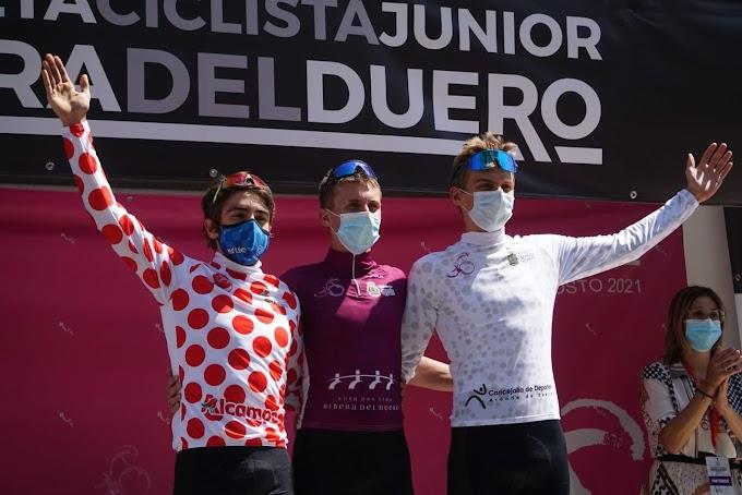 El estadounidense Luca Scuriatti ganó la V Vuelta Ciclista Junior a la Ribera del Duero