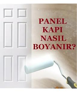 panel kapı boyası nasıl uygulanır