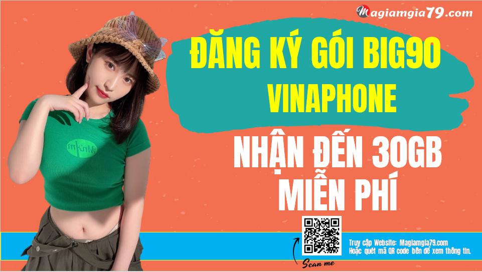 Đăng ký gói BIG90 Vinaphone