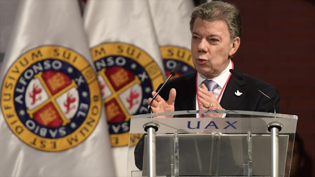 Santos rechaza un nuevo plebiscito sobre acuerdo de paz con FARC