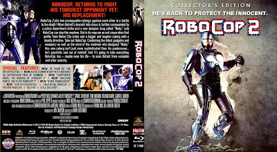 Carátula Bluray: Robocop 2