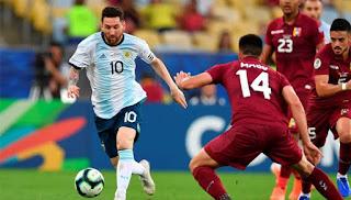 شاهد ملخص اهداف مباراة الأرجنتين وتشيلي بتاريخ 06-07-2019 كوبا أمريكا 2019