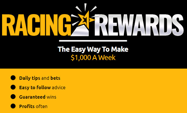 Racing Rewards Horse Racing Tips reviews SCAM OR LEGIT? Bets That Win, Racing Rewards For You & Today's Tips