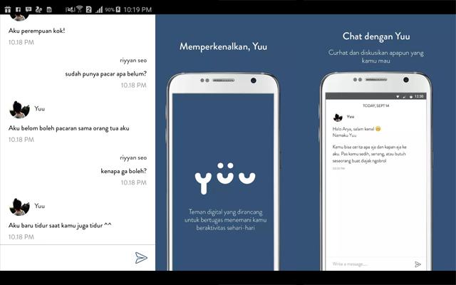 YUU aplikasi chating buat cowo kesepian - Cocok buat para jomblo