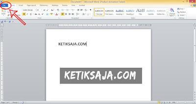 Cara Membuat Dokumen Baru di Microsoft Word