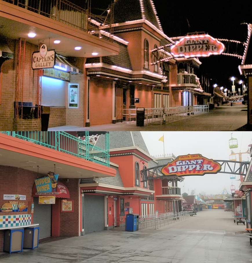 Then & Now Movie Locations: The Lost Boys