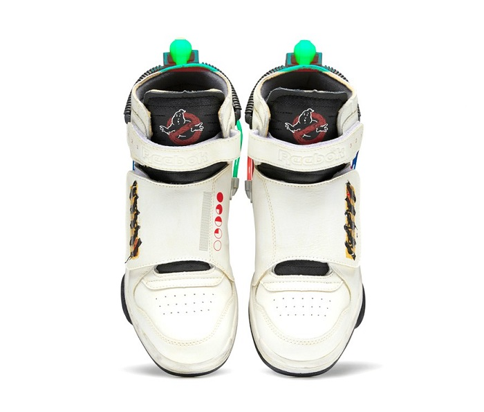 Ghostbusters Reebok Shoes Top View