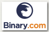 Логотип брокера Binary.com