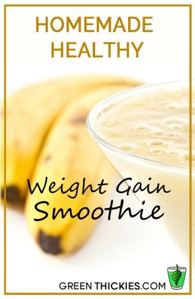 4. Resep smoothie penggemuk berat badan. Resep smoothie yang bisa membantu anda nambah berat badan. Kalau anda merasa terlalu kurus dan ingin menambah berat badan dengan cepat, maka smoothie ini perlu jadi bagian dari menu anda setiap hari.