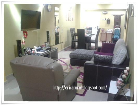 Ruang Tamu Yang Simple Perabut Basic