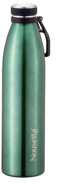 NOUVETTA COSENZA Double Wall Steel Bottle 1000 ML (Green)