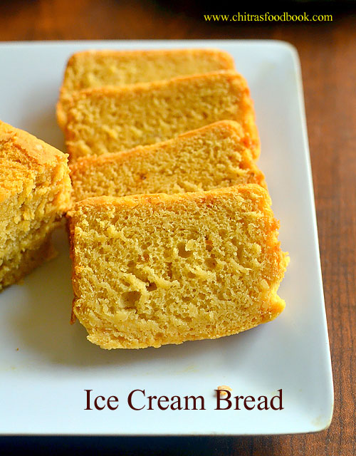Ice Cream Bread Recipe Using 2 ingredients