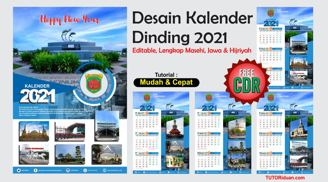 Desain Kalender / Desain Kalender 2021 09 Eps 2021 ...