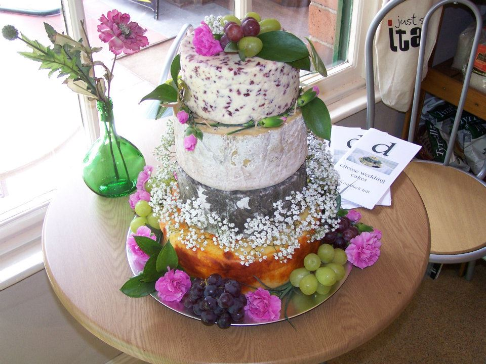 cheese wedding cake yorkshire dales food shops ripon deli on duck hill 12628