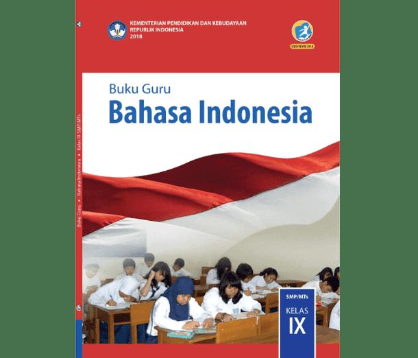 Buku Guru Bahasa Indonesia SMP MTs Kelas 9 K13 Revisi 2018