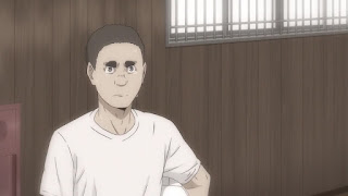 ハイキュー!! アニメ 3期8話   白鳥沢学園高校 監督 鷲匠鍛治 若い頃   HAIKYU!! Season3