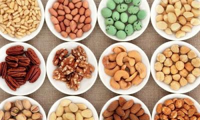 Các loại hạt bổ sung axit béo cơ lợi cho gan.