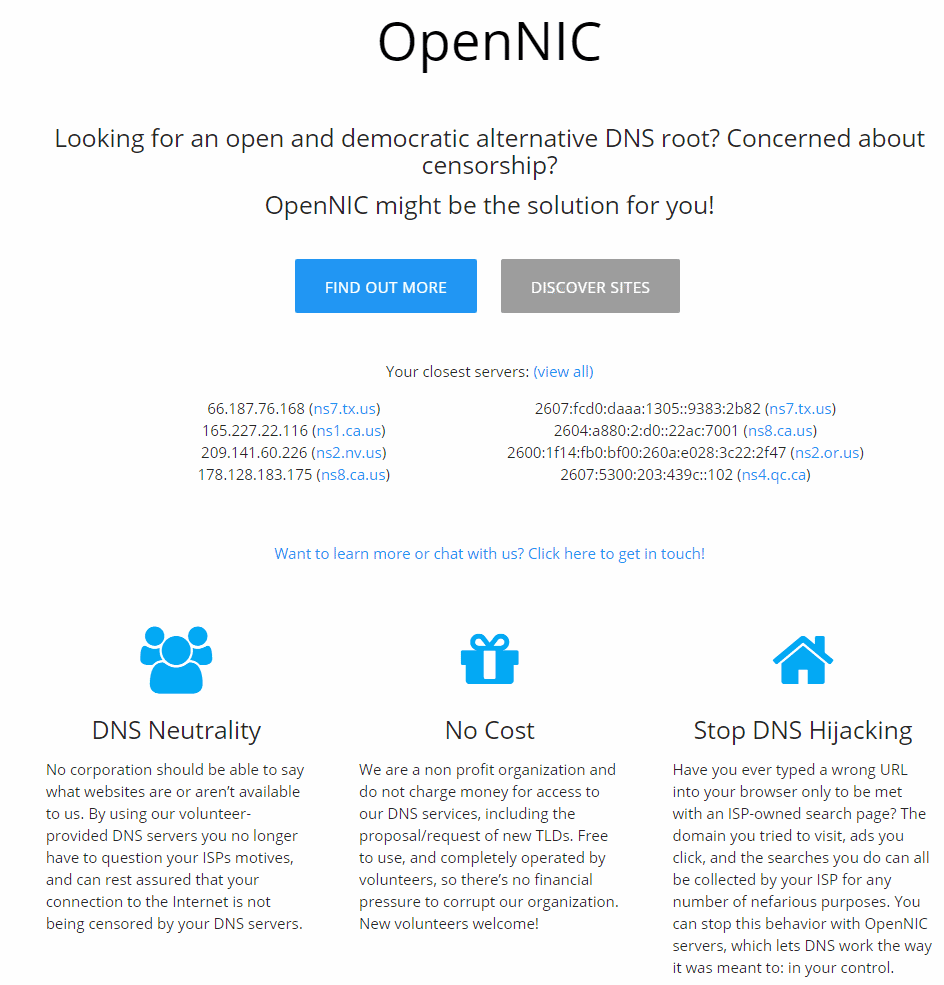 OpenNIC Project