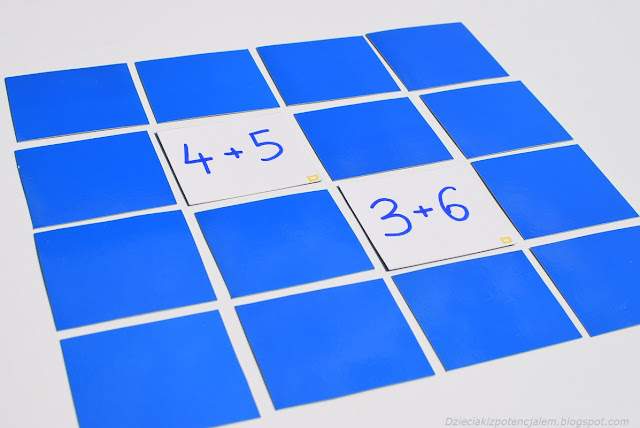 matematyczna gra diy