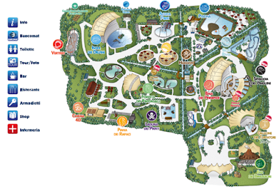 Mappa Zoomarine