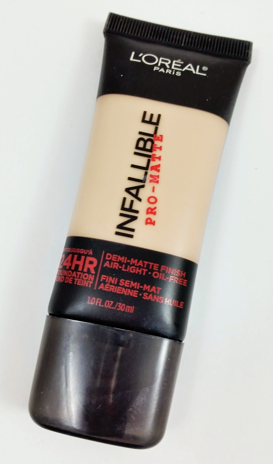 Pro Foundation Mixers By Nyx Professional Makeup: L'oreal Infallible Pro-Matte Foundation Review And