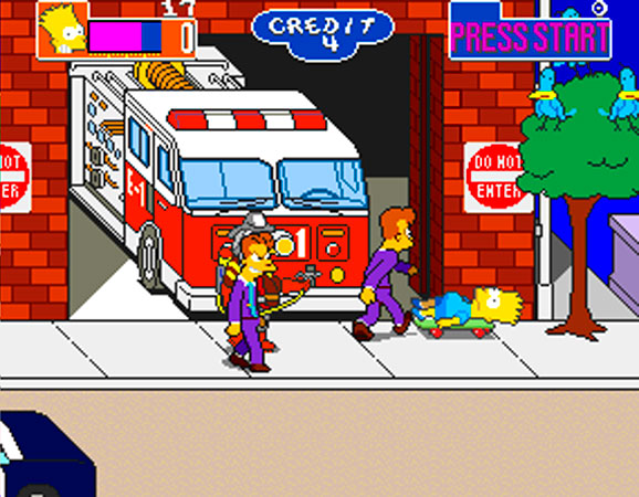 The Simpons Arcade Game 10