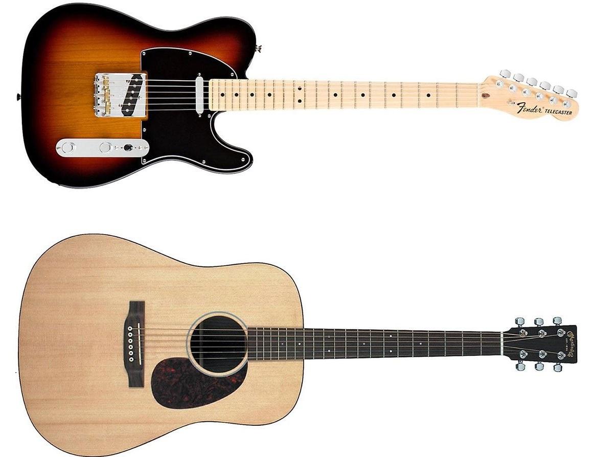 Hasil gambar untuk Gitar Akustik Atau Listrik