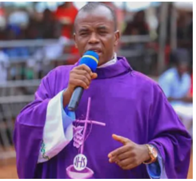"""Rev. Fr Mbaka says the obvious truth to Buhari: """"Take care of youths or they will rise against your government"""""""