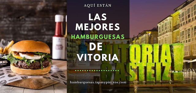 Las mejores hamburguesas de Vitoria