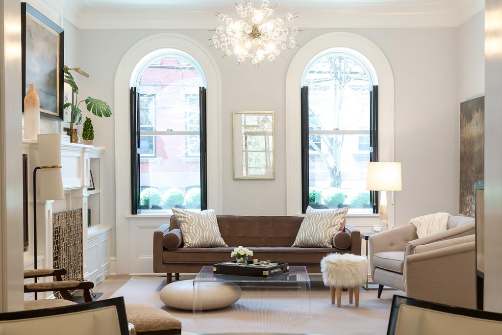 Mowery Marsh Architects LLC: Hoboken Brownstone- Interiors