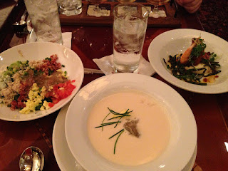 Oyster Brie Soup- Hollywood Brown Derby The Recipes Of Disney 48 oz half and half