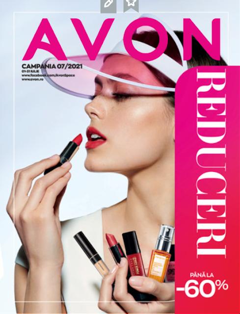 AVON Promotii + Catalog-Brosura  № 7  1-31.07 2021