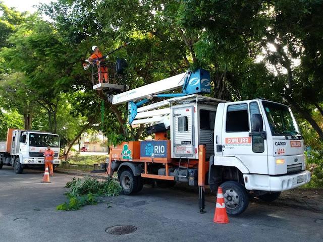 Superint. de Campo Grande realiza operação de ordenamento e limpeza
