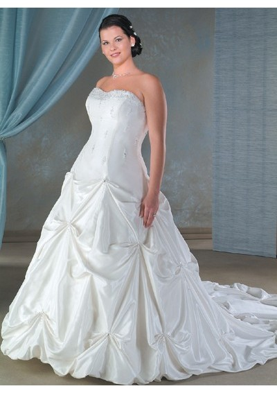 Plus size designer bridal gowns dress inspiration for Plus size designer wedding dresses