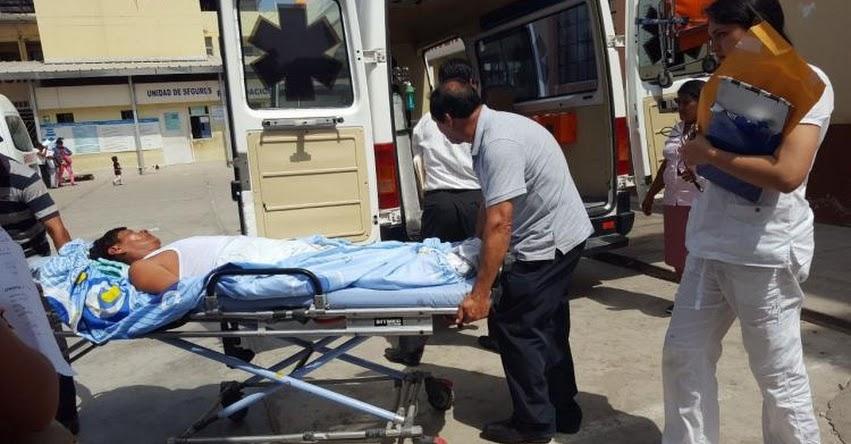 Estudiantes universitarios fueron baleados por resistirse a ser asaltados en Chiclayo