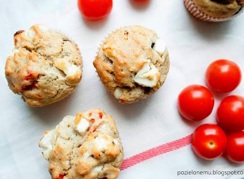 Majówkowo-piknikowe muffiny z fetą