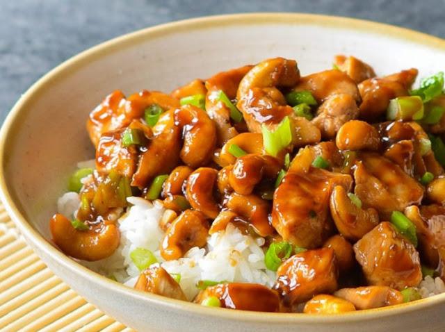 Cashew Chicken Stir Fry #chicken #dinner