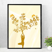 Mother Earth Art Tree Butterfly framed print, wall frame in Port Harcourt, Nigeria