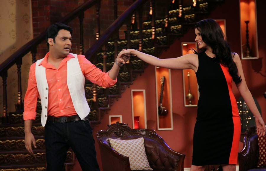 Alia Bhatt and Kapil Sharma
