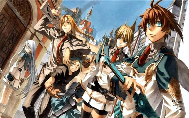God Eater dan Chrome Shelled Regios bertemakan post-apocalyptic