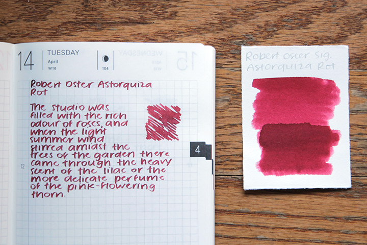 review: robert oster signature astorquiza rot