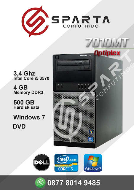 PC Sparta Computindo 3.4 Ghz Ram 4 GB Core I5 (DELL)